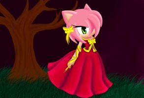 Amy Rose _ intento by IrisStarRose