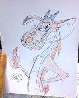 Indy Pop Mushu by tombancroft