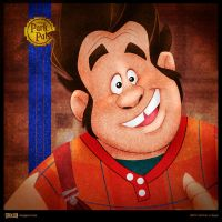 Disney Park Pals - Wreck-It Ralph by SillyNate