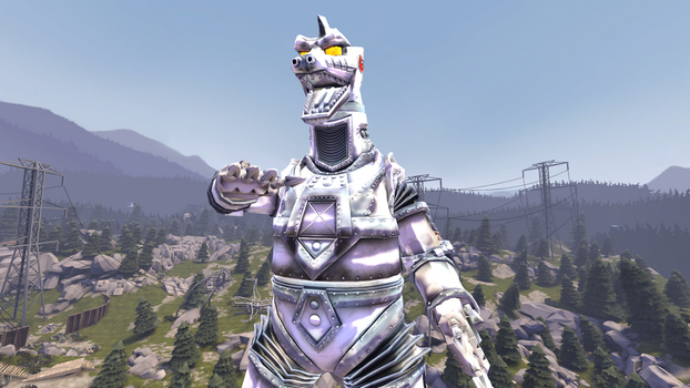 mechaGodzilla 1 by Scythwing