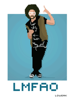 Pixel Art LMFAO by Loweak
