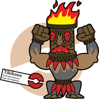 Fake Pokemon: Tikihuna by Sageroot