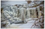 Frozen waterfall by tina1138