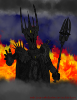 Shadow And Flames by metalowy-metalowiec