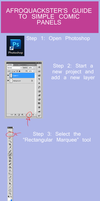 Tutorial: Simple Comic Panels by afroquackster