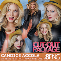 Candice Accola La Teen Festival Cut-Out Pack by r-adiant