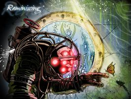 Big Daddy reminiscing full color '' by WackoShirow