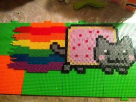 Giant Nyan Cat by CoolNerdGirl1
