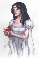 Snow White - the Choice by Elenatintil
