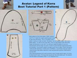 Avatar: Legend of Korra Boot Tutorial pt. 1 by LookyLolo