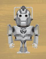 Dr. Who - Cyberman by TheBeastIsBack