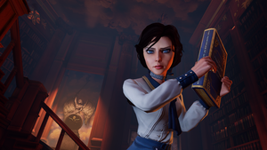 BioShock Infinite  - the library. by Nylah22