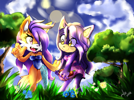 Flaff and Jas by RedApple777