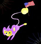 Happy Fourth of July by mctori
