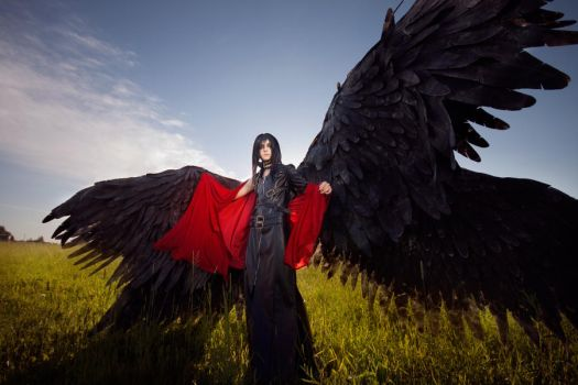Lucifer Angel Sanctuary: Lucifer angel by GeshaPetrovich