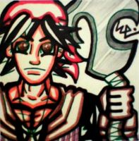 Serge Post-It by dark-es-will