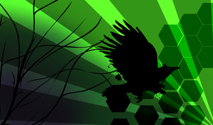 Crows 'n Green Stuff by QQ-Incorperated