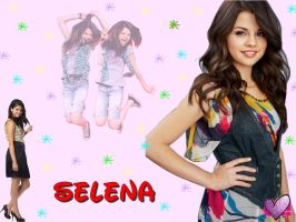 Selena Gomez Wallpaper by VampireGirl1904