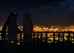 forgettable city lights by Ronkeyroo