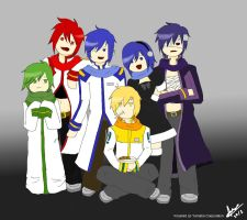 Kaito's Family :3 by andre164