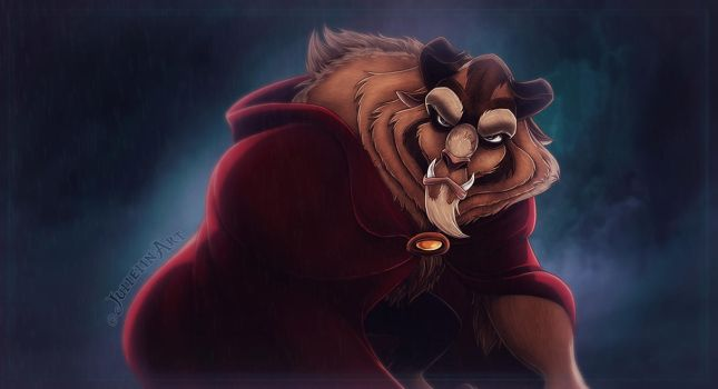 Beast from Beauty and the Beast by Jullelin