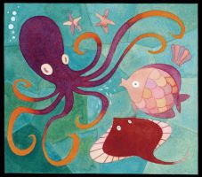 Sea Animals by tinysnail