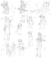 November 2012 Sketchdump by ND-2500