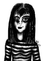 Striped Doll by ameliarose