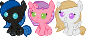Points Adoptables N 2-3-4 by isamadworld52