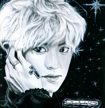 Starlit Chanyeol by Sarang-Lee