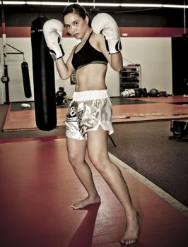 Kickboxing girl by ReginaBoxing