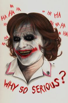 Why so serious ? by Alizee-P