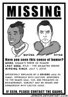 Missing: Sokka's Humor by Jenken
