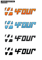 Four Logotype by byNick