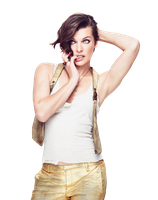 Milla Jovovich PNG by anime1991