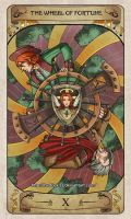Cerebium Tarot 10 - The Wheel of Fortune by Hedrick-CS