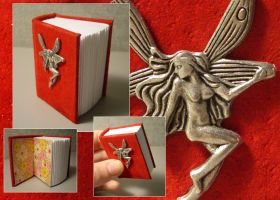 Red Fairy Mini Book by funkmaster-c
