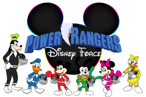 Power Rangers Disney Force by BennytheBeast