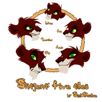 Shajena: Five Ages by SickRogue