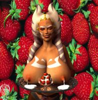 Orange, Strawberries and Cream by Chup-at-Cabra
