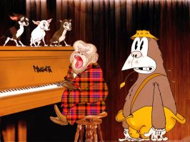 Pooch Pianola by Makinita by Makinita