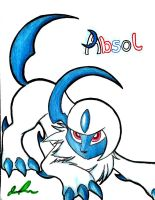 Absol by ShimmerTheVampfox