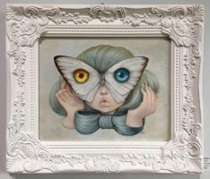 Framed Mothra by camilladerrico