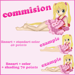 Commision list + examples by twinlightownz