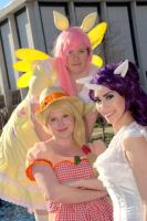 My Little Ponies Group 4 by MakeupGoddess
