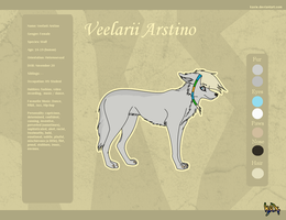 Reference sheet- Veelarii by KaXie