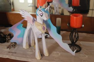Princess Celestia by KokoroPapercraft