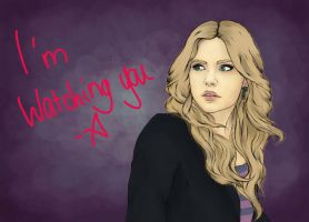 Pretty Little Liars Hanna by frozenfingerz
