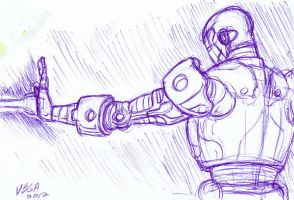 Sketch The Iron Guy by shaotemp