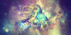 Jaina Proudmoore 11 September 2013 by Strawtwitch